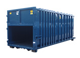Rectangular Receiving Container
